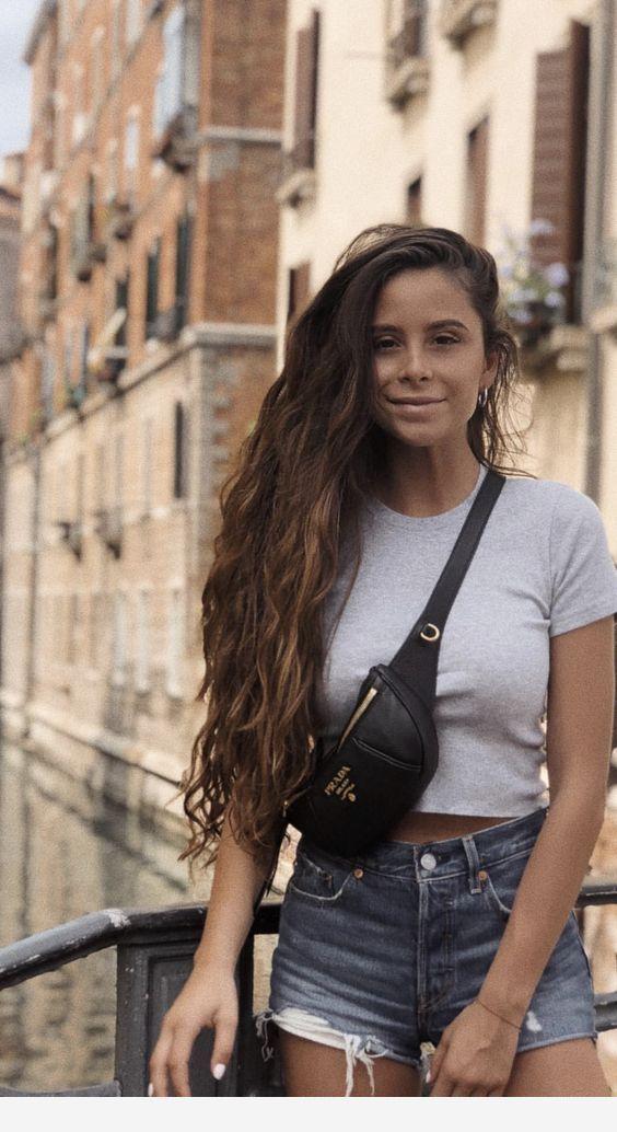 Beautiful girl amazing hair