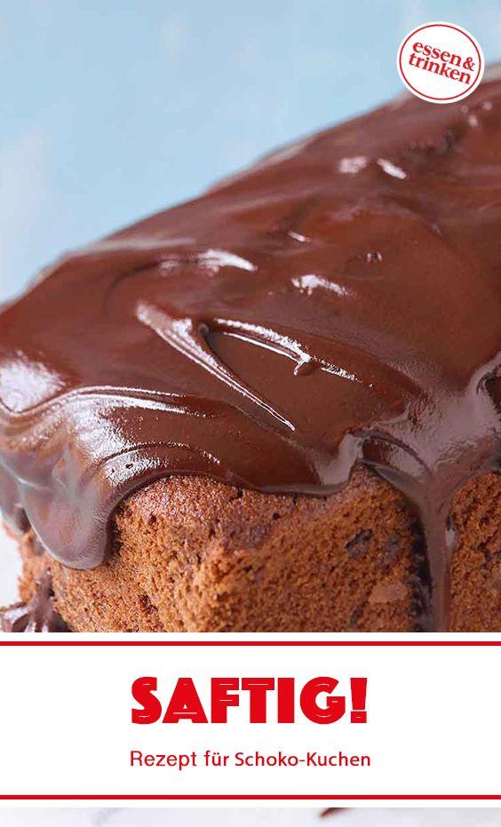 Rezept für saftigen Schoko-Kuchen