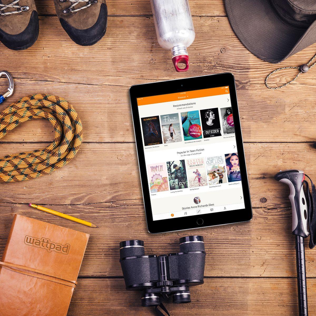 Get lost in a must-read adventure story on Wattpad this week.