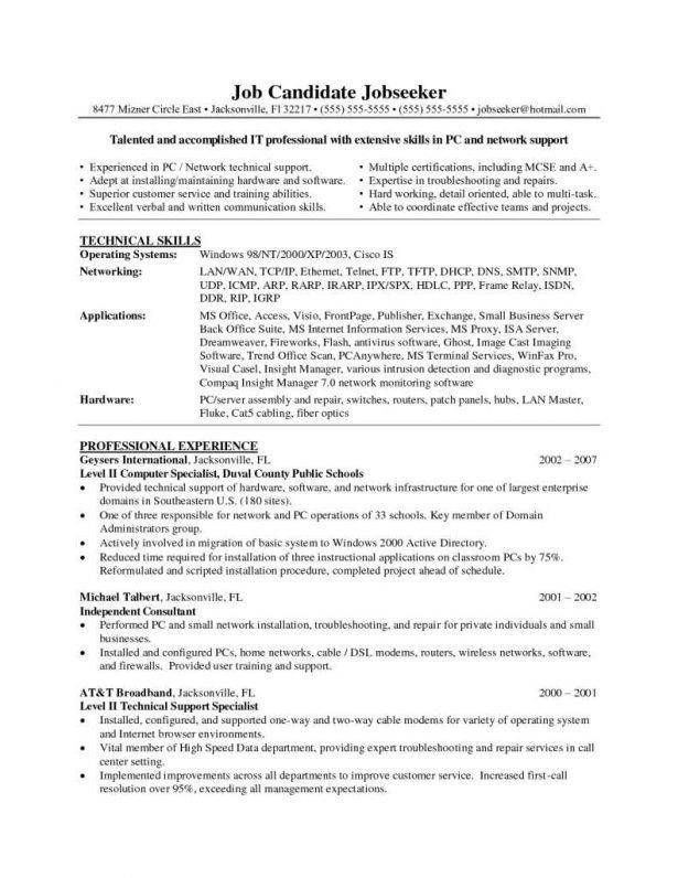 Stunning Network Cable Installer Cover Letter Images - Resumes ...