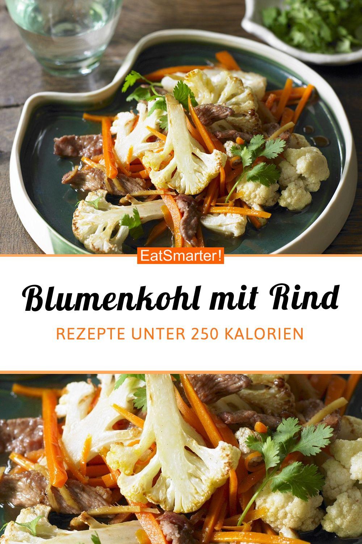 Blumenkohl mit Rinderfilet - smarter - Kalorien: 217 kcal - Zeit: 30 Min. | eatsmarter.de #blumenkohl #rinderfilet #unter250kcal #rezepte