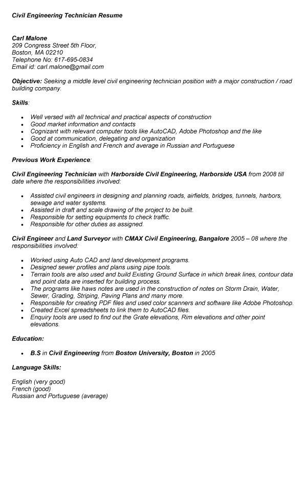 industrial engineering technician sample resume sample cover quality