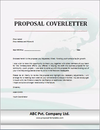 Template For Business Proposal Letter 32 Sample Business Proposal - formal proposal letter