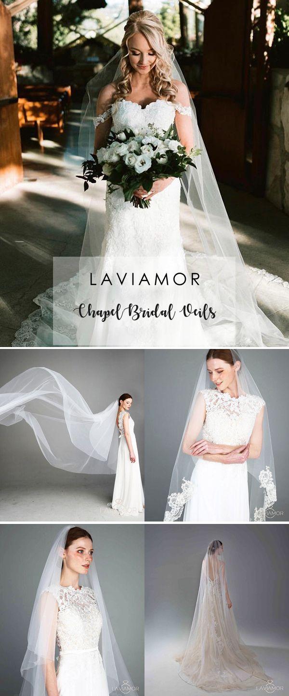 Laviamor Chapel Bridal Veils #veil #weddingveils #bridalveil #chapelveil #laceveil #laviamor
