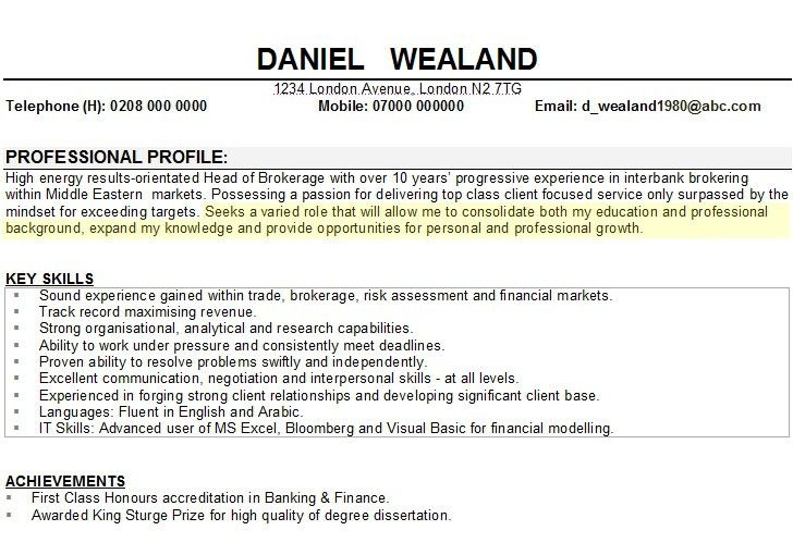 Career Objectives For Resume How To Write A Career Objective On A
