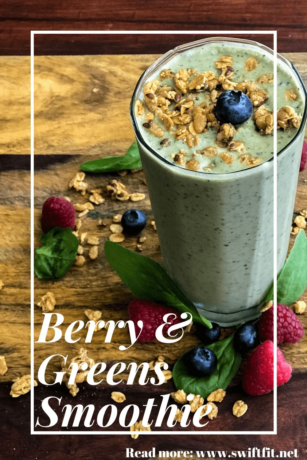 Swift | Berry & Greens Smoothie