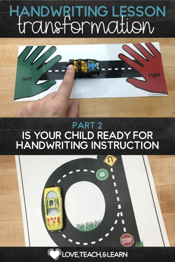 Is Your Child Ready For Handwriting Instruction?