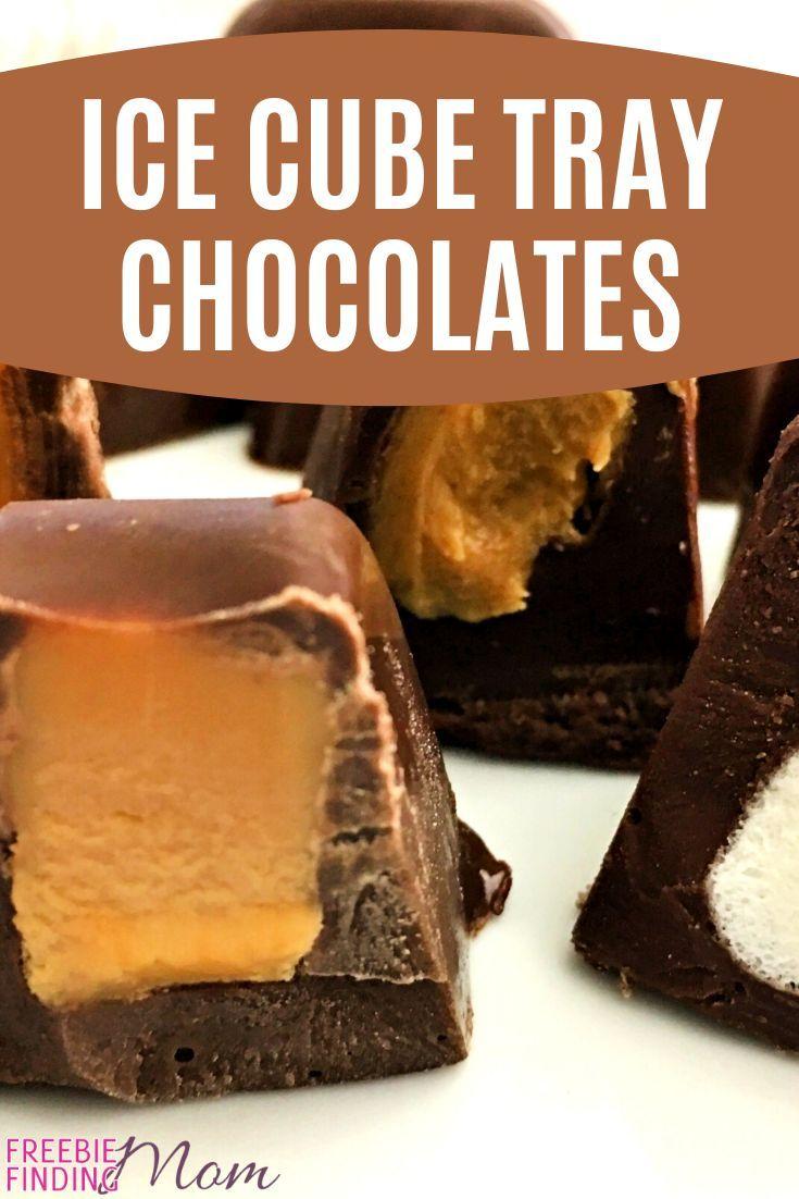 Chocolate Christmas Candies Recipe: Ice Cube Tray Chocolates