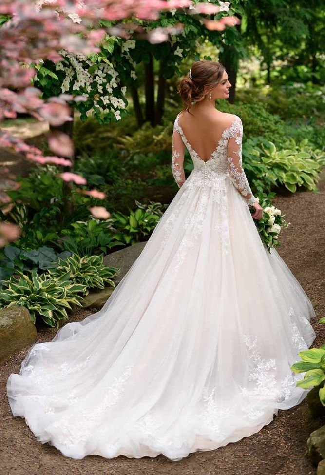 Bold and Beautiful Essense of Australia Wedding Dresses