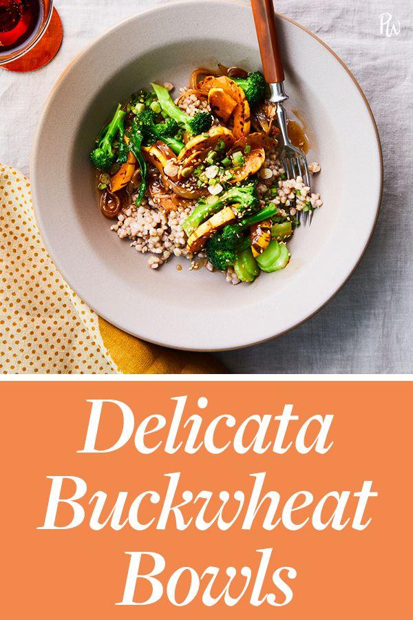 Delicata Buckwheat Bowls