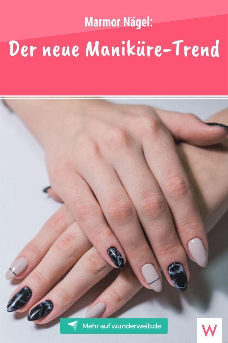 Marmor Nägel: Der neue Maniküre-Trend  | Wunderweib