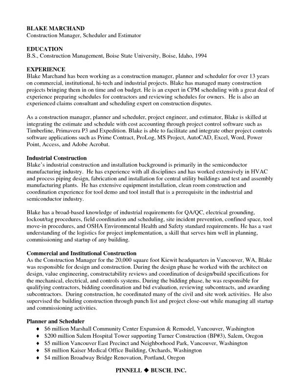 Planner Scheduler Job Description Project Scheduler Job - project engineer job description