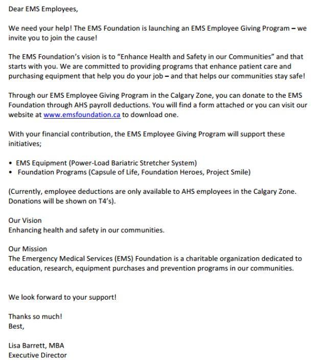 Ems Director Cover Letter | Cover Letter