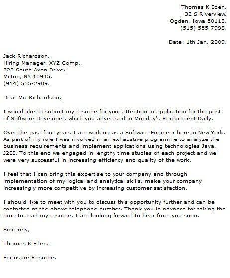 Sample Cover Letter Programmer Computer Programmer Cover Letter Cover  Letters Read Now   Sample Cover Letter