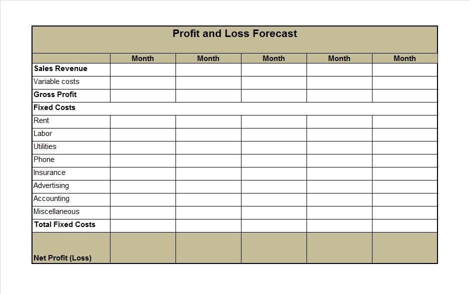 profit and loss statement templates | node2003-cvresume.paasprovider.com
