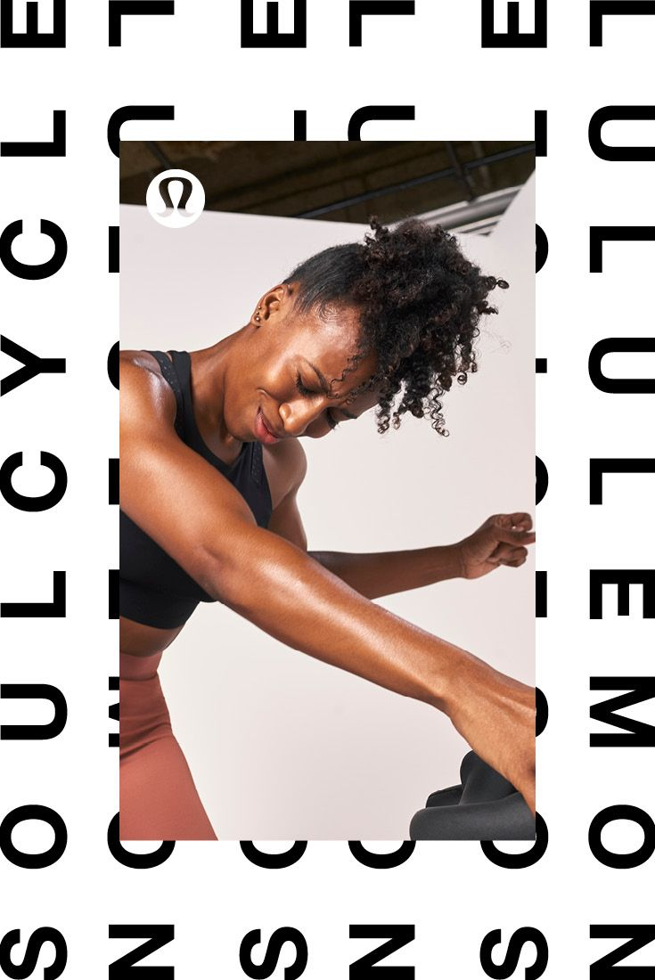 Full-On® Luxtreme for full-on rides.   lululemon X SoulCycle