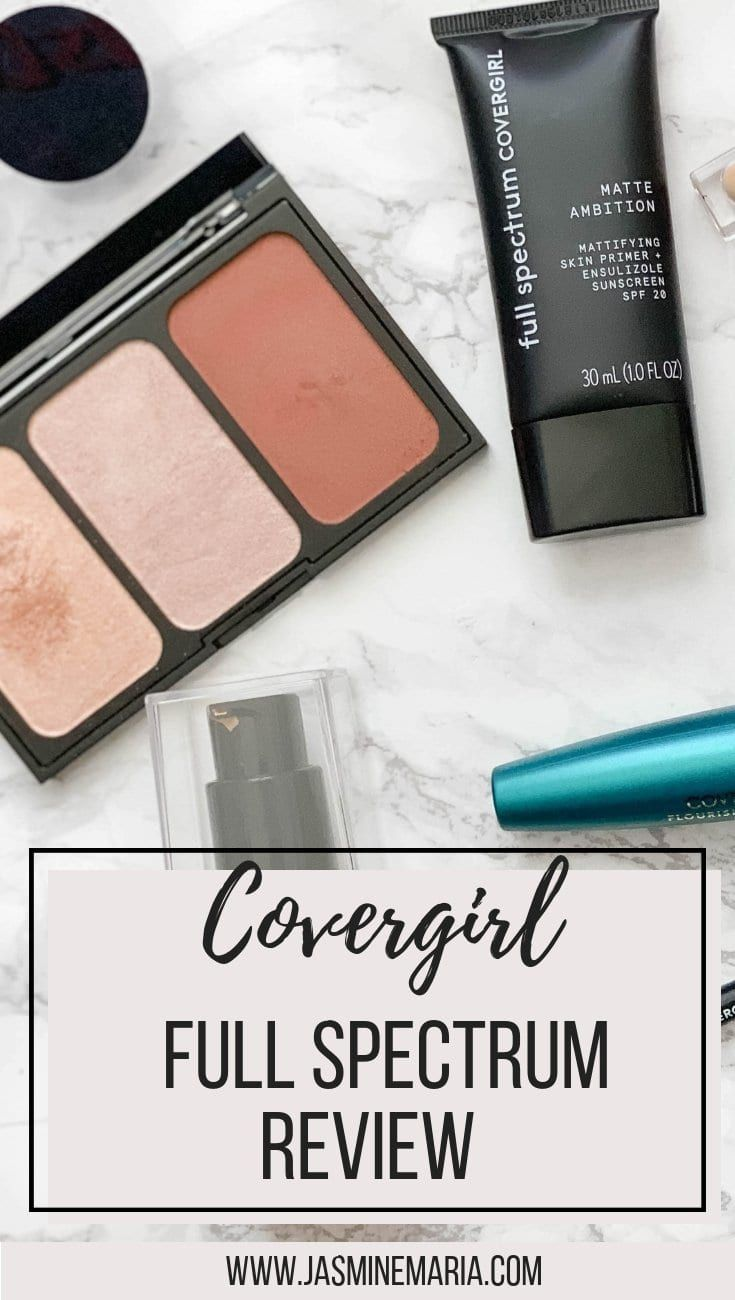 Covergirl Full Spectrum Review + Makeup Look #covergirl #covergirlfullspectrum #makeupreview #makeuplook