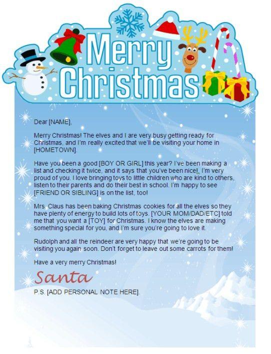 Template For Christmas Letter Best 25 Christmas Letter Template - christmas letterhead templates word