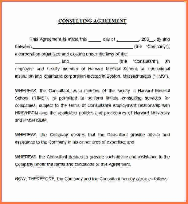Consulting Contract Template Free 5 Consulting Contract Templates - business consultant agreement