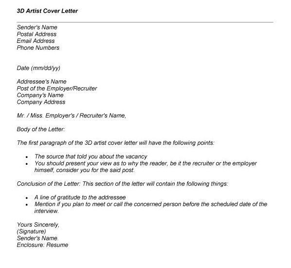 ... 3d Animator Cover Letter 3d Animator Cover Letter Sample   Lead  Animator Cover Letter ...