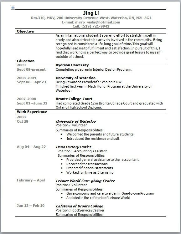 Student resume template australia resume templateasprovider resume sample in australia australian cv cover letter sample high student resume template australia yelopaper Choice Image
