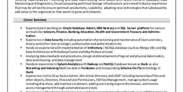 enterprise data management resume data scientist resume
