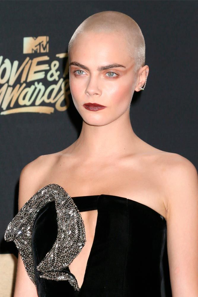 Blended Buzz Cut #shorthair #caradelevingne ★  A women buzz cut is a great way to not only upgrade your hair style to keep up with fashion but also claim your female power. So, if you're looking for some ideas, pick out from our versatile collection of the best girl buzz cuts rocked by celebrities, from a pixie hawk to a buzzed fade. #glaminati #lifestyle #buzzcut