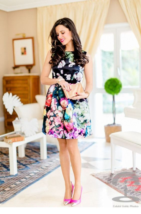 I like this floral dress