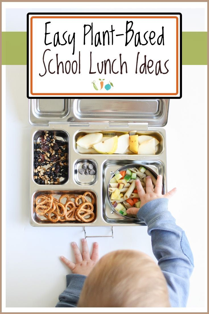 Easy Vegan School Lunch Ideas- Veggies Don't Bite
