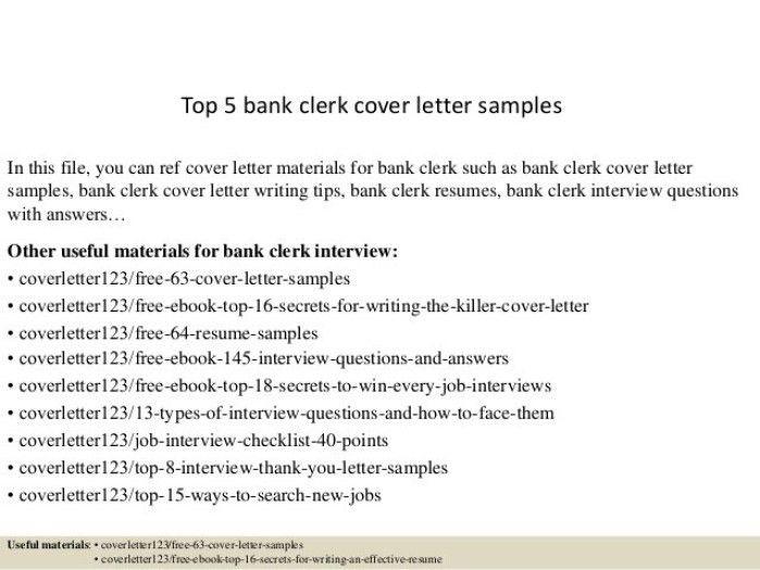 Poll Clerk Cover Letter - sarahepps -