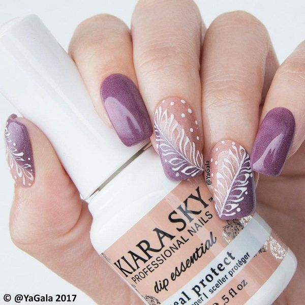 Dots are the old all-knowing way to decorate your nails.