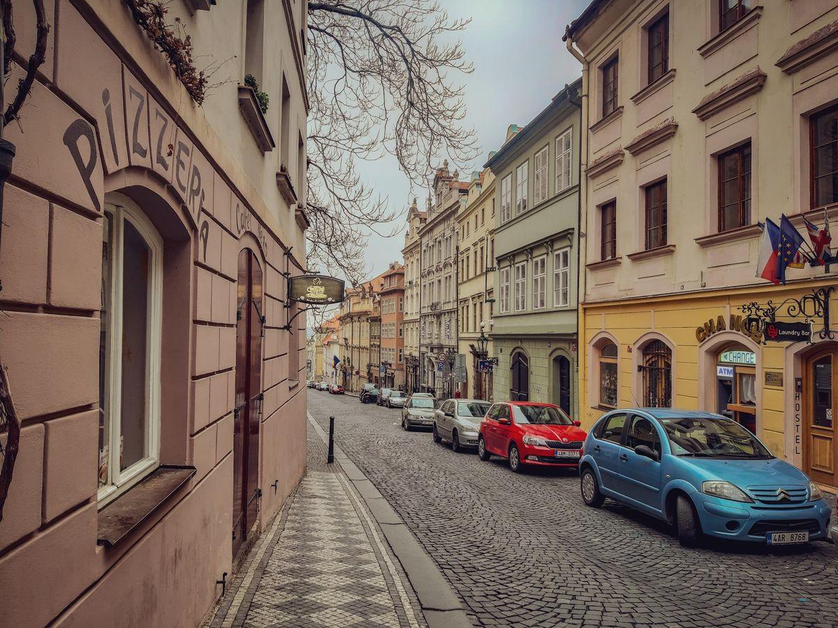 На улочках Праги