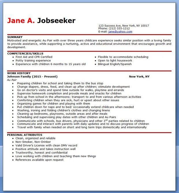 resume template australia free - Free Australian Resume Templates