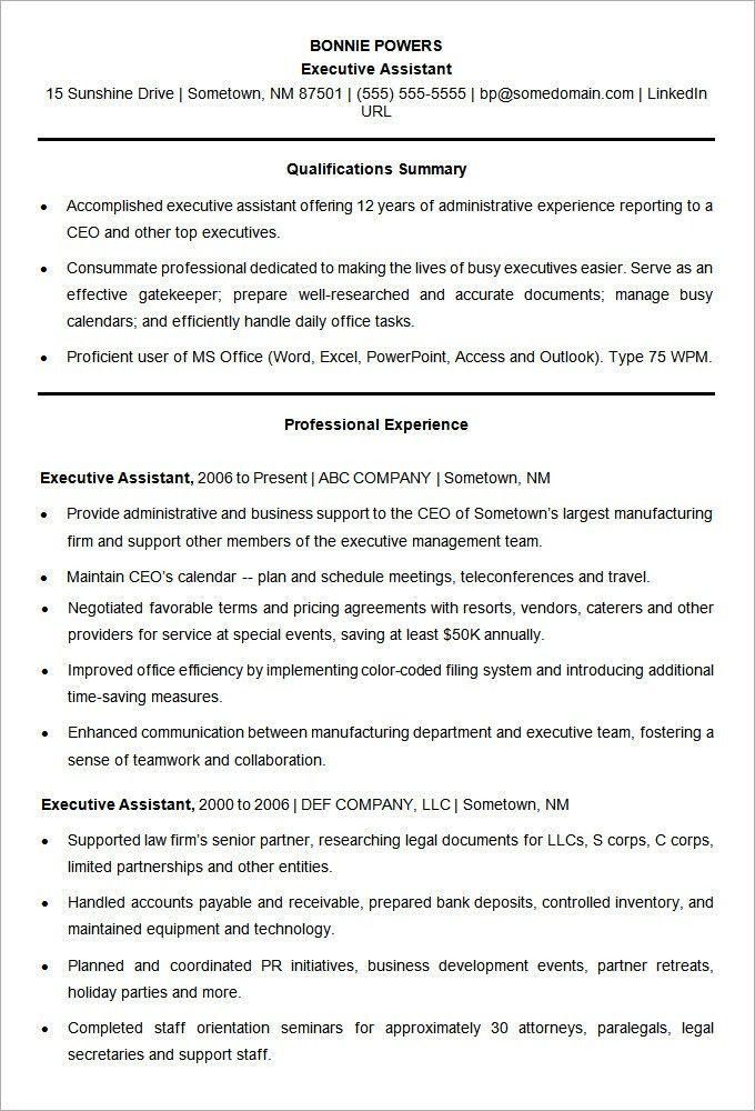 Standard Resume Template Word 7 Free Resume Templates Primer - standard resume examples