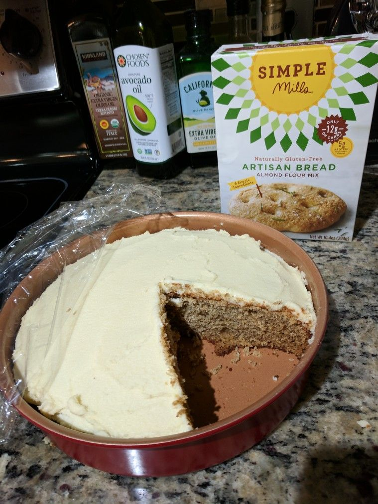 Easy Banana Cake! I started with a simple Mills bread mix ...