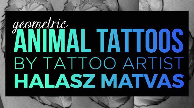 Geometric Animal Tattoo Designs