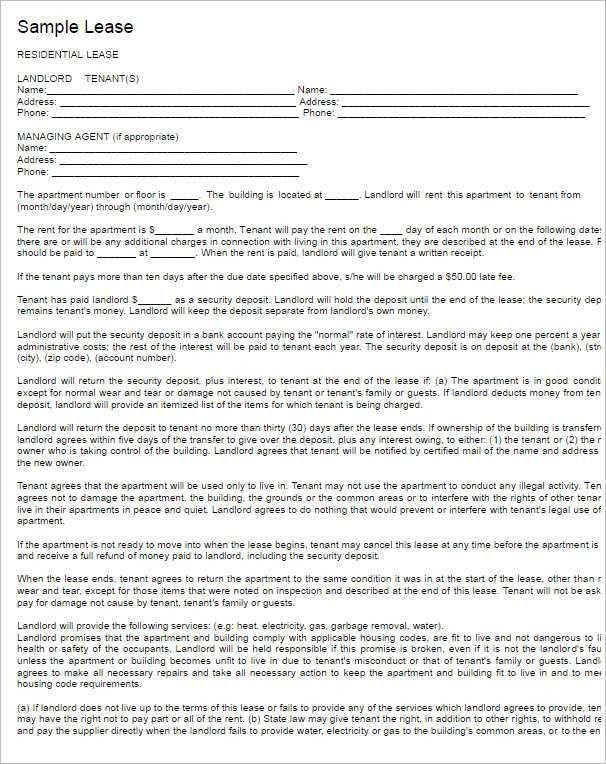 Simple Lease Agreement Template Simple Rental Agreement 34 - sample horse lease agreement template