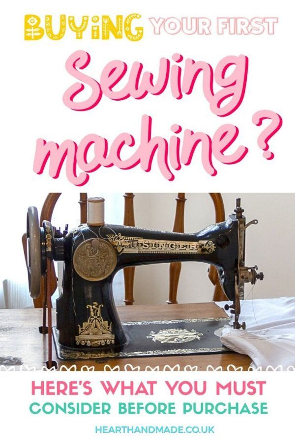Need to know the best sewing machine for beginners? This guide walks you through everything you must consider before you make a purchase. Click through to read the entire guide with all the essentials required as a beginner stitcher. Whether you're interested in sewing clothes, sewing home decor projects or even want to use it for paper, this guide will help you know exactly what you should be looking for with a couple of suggestions to get you start #sewing #shopping #crafts