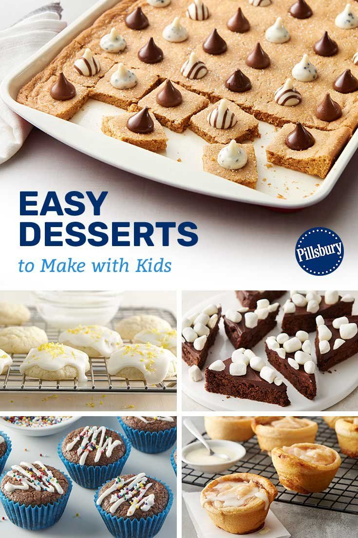 Whether you're snowed in with a bunch of stir-crazy littles or your kids are looking to experiment in the kitchen, these recipes are perfect for bonding with your kids.