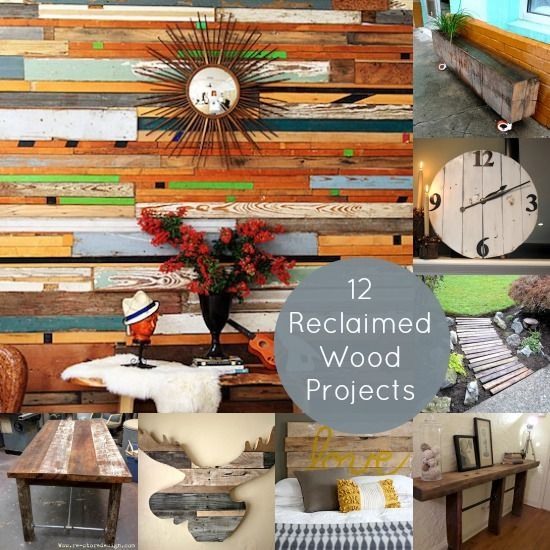 12 Cool DIY Reclaimed Wood Projects - diycandy.com