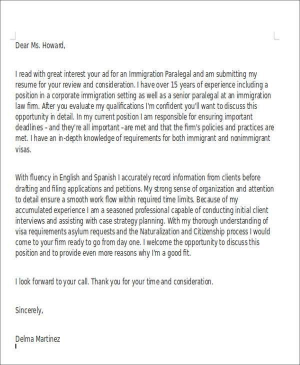 immigration attorney sample resume env 1198748 resumecloud - Immigration Attorney Sample Resume