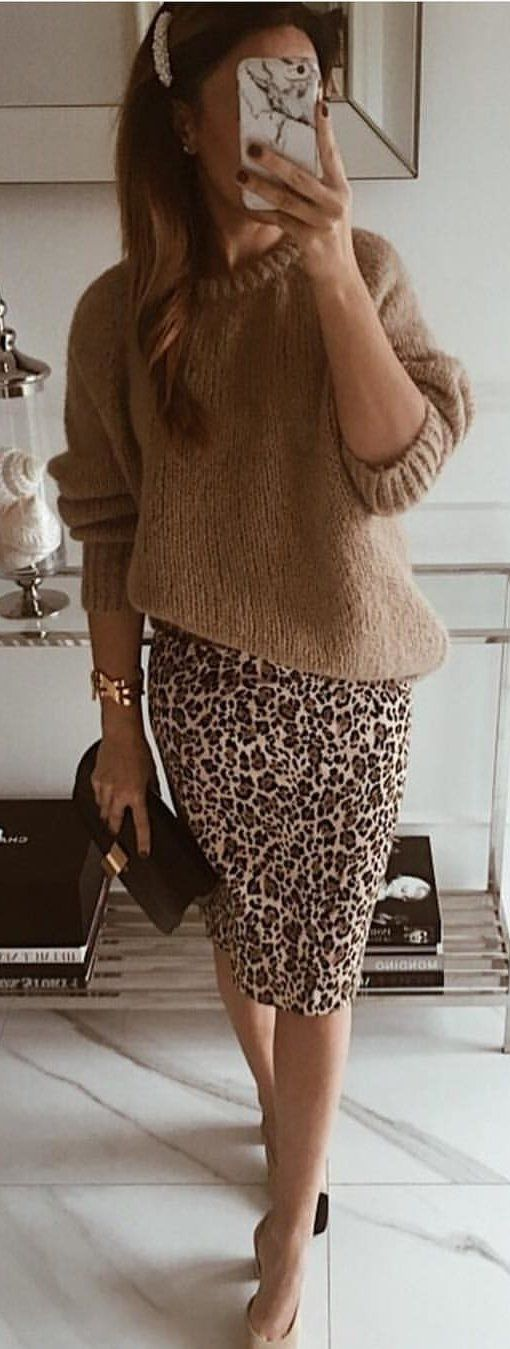 brown long-sleeved top