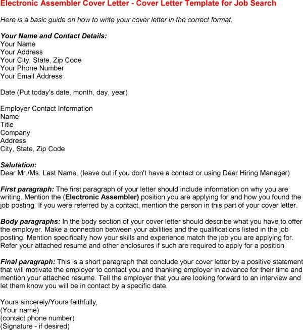 What A Cover Letter Should Include Download What To Include In How To Write  A