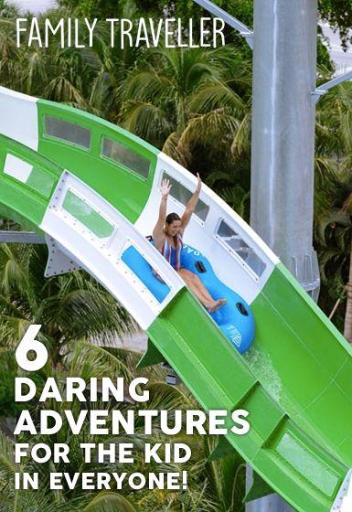 6 Daring Adventures for the Kid in Everyone at Tidal Cove Waterpark