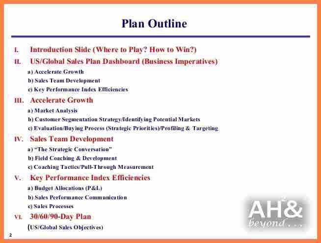 Sample Sales Plan Template Sample Sales Plan Template 17 Free - sales plan example