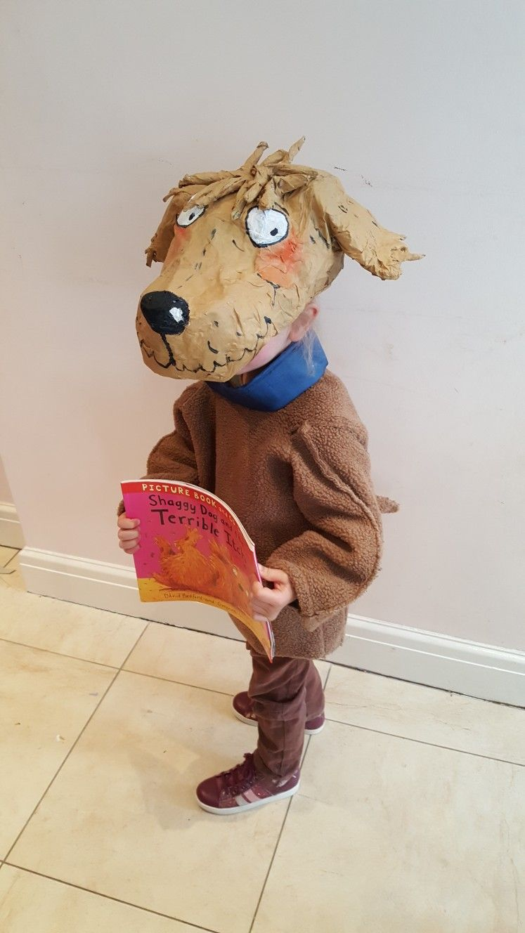 Shaggy Dog And The Terrible Itch World Book Day Costume Papier