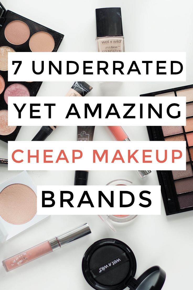 7 underrated yet amazing cheap makeup brands you NEED to know! #makeup #makeupbrands #drugstoremakeup #affordablemakeup #beauty #lipstick #eyeshadow