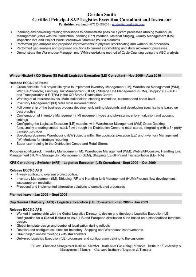 Sap security consultant sample resume sap hr resume sample sap hr