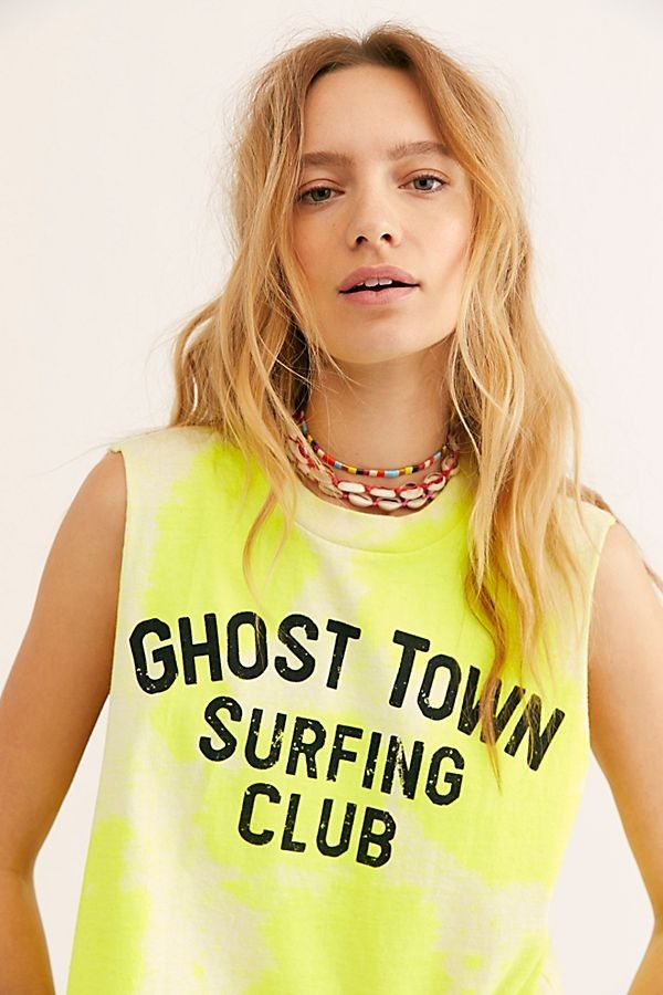 Ghost Town Surfing Club Tank