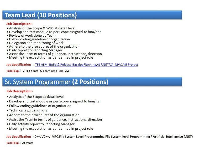 Clinical Systems Analyst Jobs 10 Systems Analyst Job Descriptions - system programmer job description